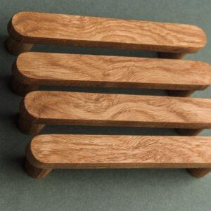 BASIC ROUND uchwyt meblowy – szer. 20 mm – wyjątkowe usłojenie