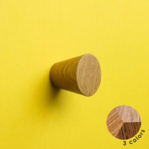 Nowoczesna gałka do mebli - BASIC CONE 3 cm - DOT Manufacture