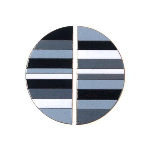 Szare uchwyty meblowe - mozaika TONE - DOT Manufacture